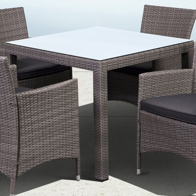 Charmaine Square Dining Table Base Finish: Gray