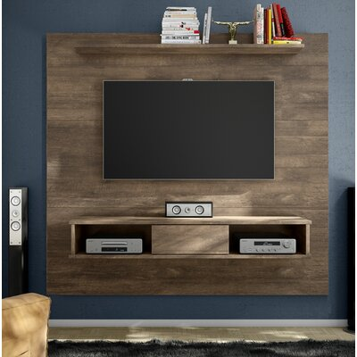 Norloti Mid-Century 2-Shelf 71 TV Stand Color: Distressed Brown