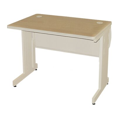 36 W Pronto Training Table Tabletop Finish: Mahogany Laminate/Dark Neutral, Size: 29 H x 42 W x 24 D