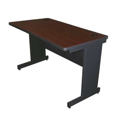 36 W Pronto Training Table Tabletop Finish: Mahogany Laminate/Dark Neutral, Size: 29 H x 48 W x 30 D