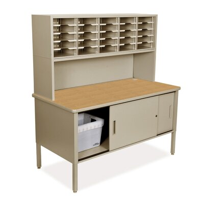 25 Compartment Mailroom Organizer