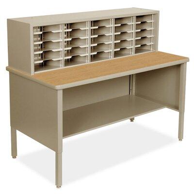 25 Compartment Mailroom Organizer