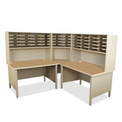 50 Compartment Mailroom Organizer