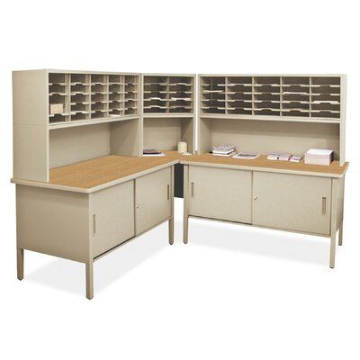 60 Compartment Mailroom Organizer