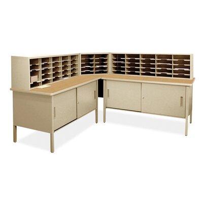 60 Compartment Mailroom Organizer