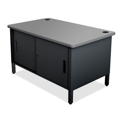 Sorter Component Mailroom Table Finish: Slate Gray