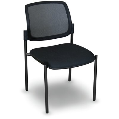 Fermata� Mesh Stackable Visitor Chair Finish: Black