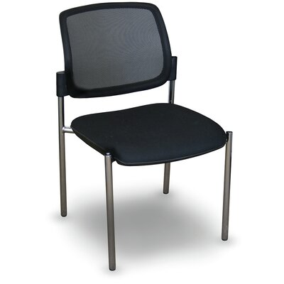 Fermata� Mesh Stackable Visitor Chair Finish: Aluminum