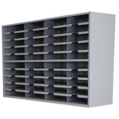 Mailroom 40 Pocket Sorter Finish: Slate Gray