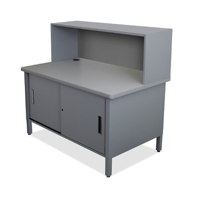 1 Compartment Mailroom Organizer Finish: Slate Gray