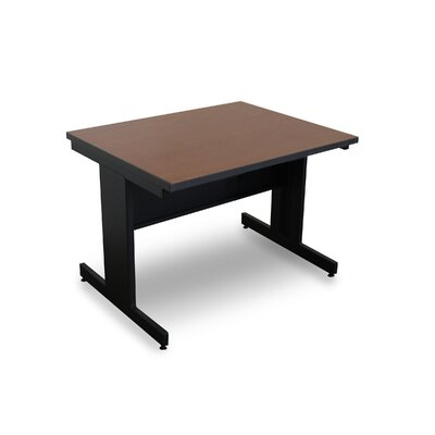Vizion 48 x 30 Rectangular Classroom Table Tabletop Finish: Cherry