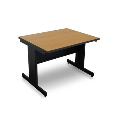 Vizion 48 x 30 Rectangular Classroom Table Tabletop Finish: Oak