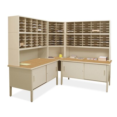 120 Compartment Mailroom Organizer