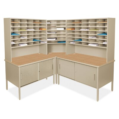 84 Compartment Mailroom Organizer