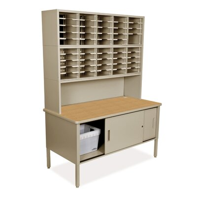 50 Compartment Mailroom Organizer
