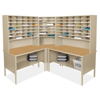 84 Compartment Mailroom Organizer