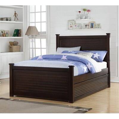 Latonya Panel Bed with Trundle