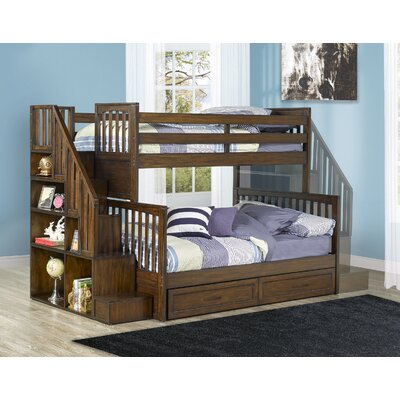 Latrice Twin Over Full Bunk Bed with Drawers