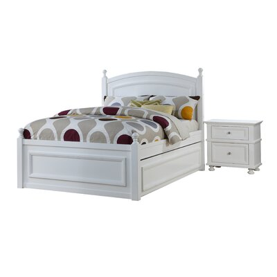 Latanya Panel Bed with Trundle
