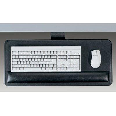 Economy Articulating 3 H x 27 W Desk Keyboard Platform