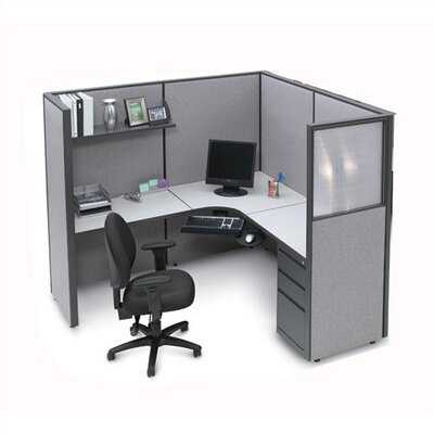 L Shape Executive Desk 706 Photo
