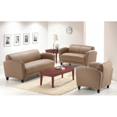Manhattan Lounge Chair Color: Latte