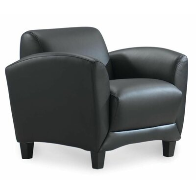 Spillane Reception Guest Chair Seat Color: Black