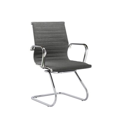 Brannon Guest Seating Seat color: Slate