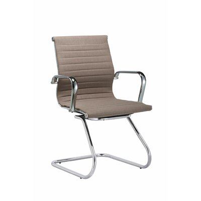 Brannon Guest Seating Seat color: Taupe
