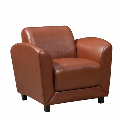 Spillane Reception Guest Chair Seat Color: Coffee