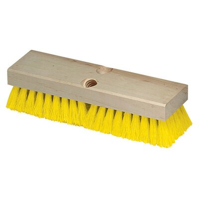 Flo-Pac� Polypropylene Deck Scrub (Set of 12) Color: Yellow