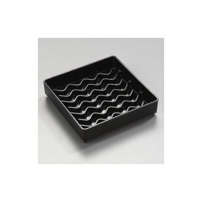 "NeWave� Square Drip Tray (Set of 12) Size: 4"" 1102003"