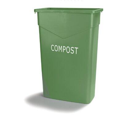 TrimLine? Compost 23 Gallon Trash Can (Set of 4)