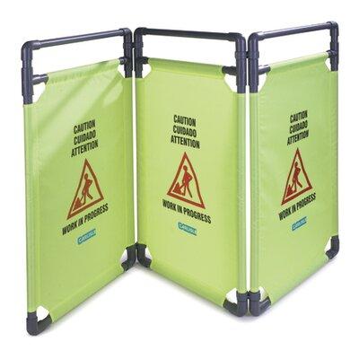 3 Panel Caution Barrier