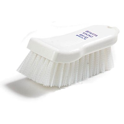 Sparta� Polyester Hand Scrub Brush Color: White