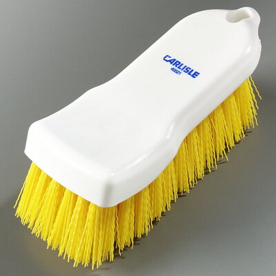 Sparta Polyester Hand Scrub Brush Color: Yellow