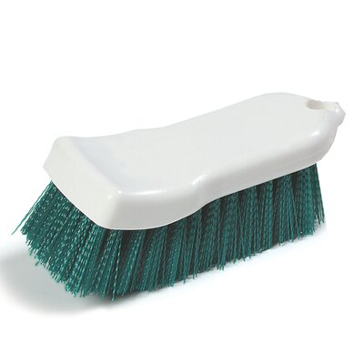 Sparta Polyester Hand Scrub Brush Color: Green