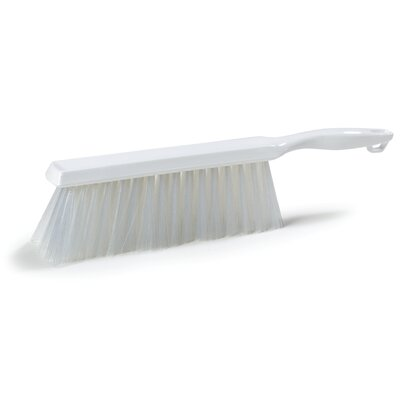 Sparta� Polyester Bench Brush (Set of 12) Color: White