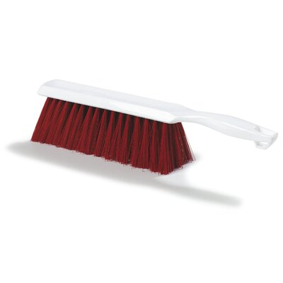 Sparta Polyester Bench Brush (Set of 12) Color: Red