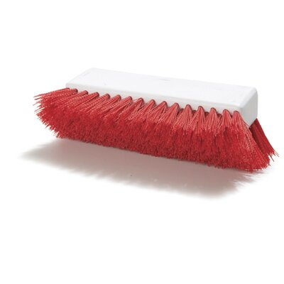 Sparta Floor Scrub Brush (Set of 12) Color: Red
