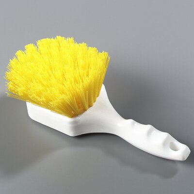 Sparta Floater Scrub Brush (Set of 12) Size: 8, Color: Yellow