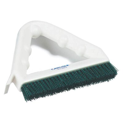 Spectrum Poly Tile and Grout Brush (Set of 12) Color: Green