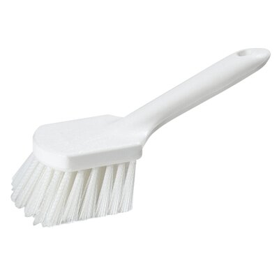 Utility Scrub Brush with Polystyrene Bristles (Set of 12) Size: 9.25