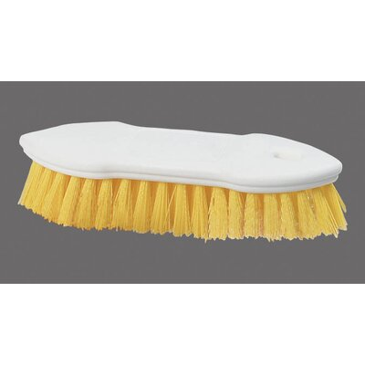 Sparta Polyester Scrub Brush (Set of 12) Color: Yellow
