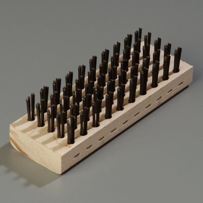 Block Brush with Steel Bristles (Set of 12)