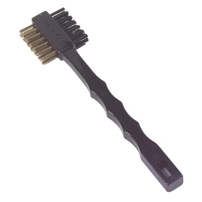 Double Sided Utility Maintenance Brush with Brass Bristles (Set of 36)