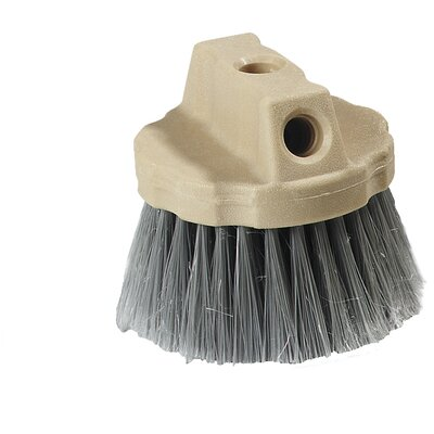 Round Window Brush with Flagged Polypropylene Bristles (Set of 12)