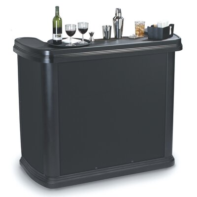 Maximizer Portable Bar Finish: Black