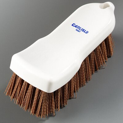 Sparta� Polyester Hand Scrub Brush Color: Tan