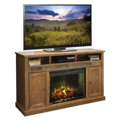 Oak Creek 62 TV Stand with Fireplace